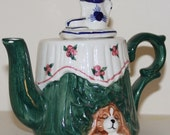 Table Set for Tea Teapot