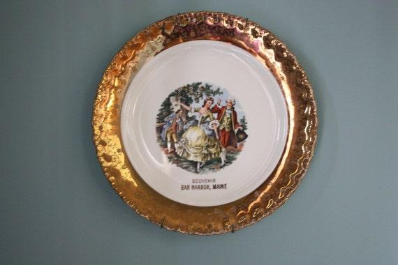 Vintage Bar Harbor Souvenir Plate