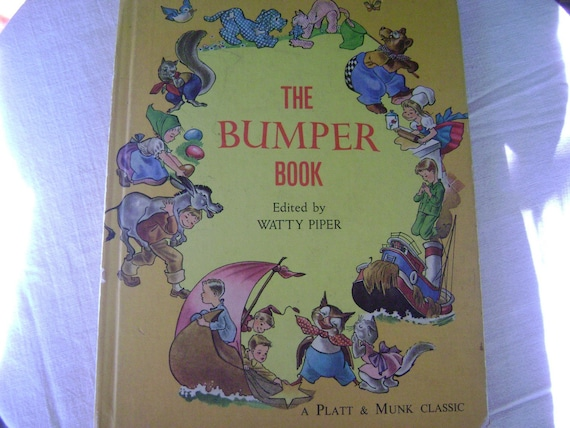 The Bumper Book By Watty Piper 1969 Hardcover Illustrated By Eulalie-EXCONDITION