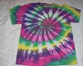 Custom Spiral Tie-Dye T-shirt - Pick The Colors - S-XL