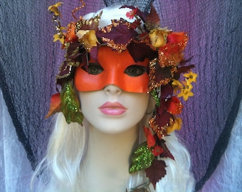 OREADS - (mountains, grottoes) Land Nymph Masquerade Mask