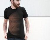 Mens JUPITER american apparel t shirt xs S M L XL xxL (Black)