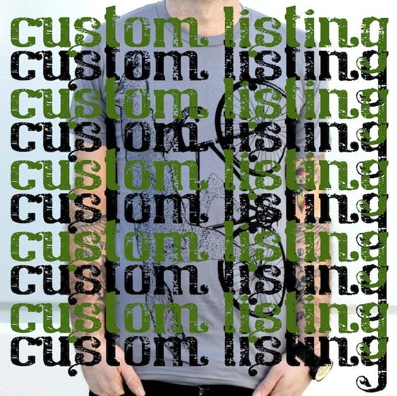 Custom Listing for Susi