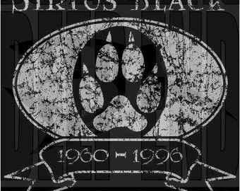 harry potter SIRIUS BLACK Tribute t-shirt screen printed all sizes