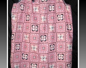 Pink and Black Pillowcase Dress custom orders welcome
