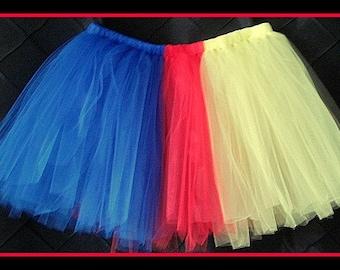 Snow white Tutu skirt,Toddler tutu,Adult tutu,Plus size Tutu,Marathon Tutu,Princess Tutu,Birthday Tutu,Disney Tutu,Team Tutu,Sewn Tutu