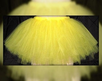 Tutu Skirt, Marathon Skirt, Baby First Tutu, Photo Props, You Choose Your Color(s) and size, Drill Team Tutu, Boutique Tutu, Birthday Tutu