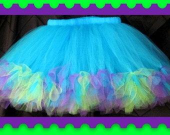 Petti Tutu Skirt,Baby tutu, Toddler tutu, Teen tutu, Adult tutu, Choose your colors,Photo Prop,flower girl, birthday, I ship priority