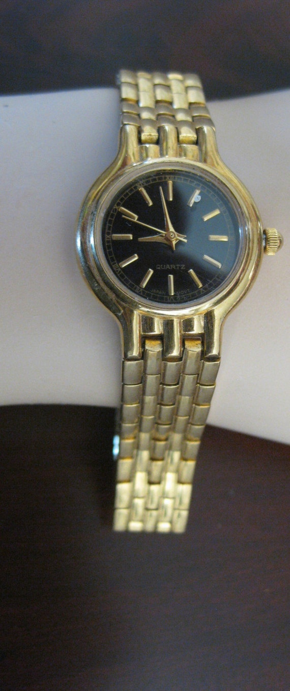 Bracelet watch gold