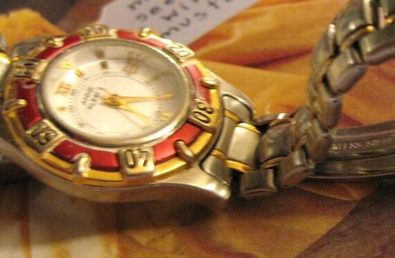 Vintage Anne Klein Ii Wrist Watch Retro Bracelet Quartz