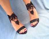 Tatted Victorian Chandelier Ankle Corsets