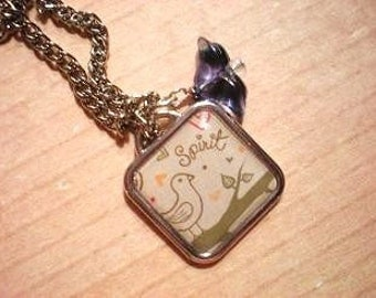 Sweet Little Bird Necklace (K12)