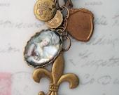 Marie Antoinette's Most Regal Trinkets Charm Necklace