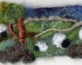 Mini Felting - Sheep in the Fields