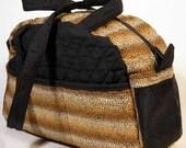 Black w/ Leopard Stripe