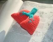 Pattern, Lungs Crochet Plush