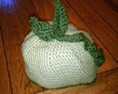 Sweet Pea Crochet Baby Hat
