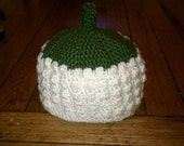 Corn on the Cob Baby Hat, Crochet