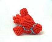 Pattern, Anatomical Heart Crochet Plush