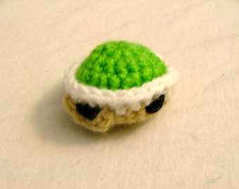 Crochet Green Turtle Shell