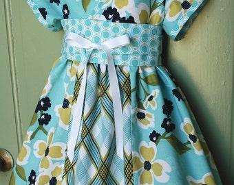 Kyoko style dress in Joel Dewberry modern meadow