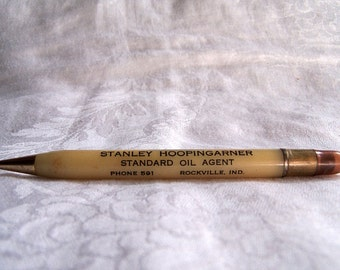 Vintage Standard Oil Company Advertising Mechanical Pencil