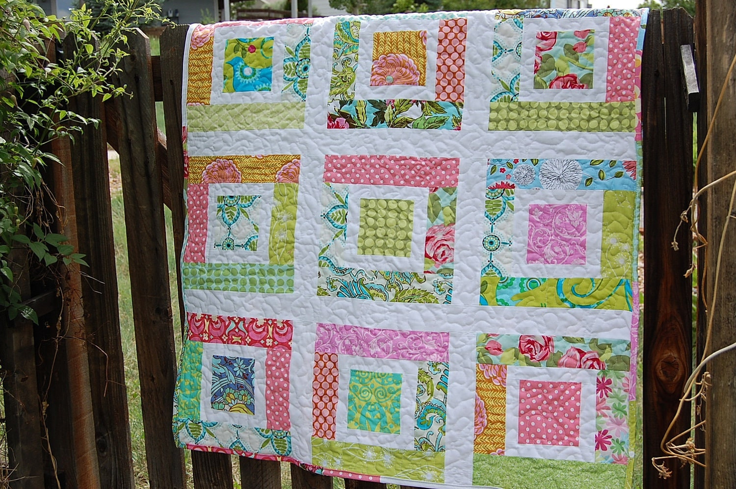 Lulu's Quilt PDF PaTTeRN Easy Baby Quilt Scraps Jelly : baby quilts designs - Adamdwight.com