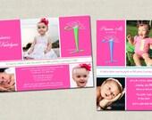 Princess Themed Birthday Party Invitation - digital design