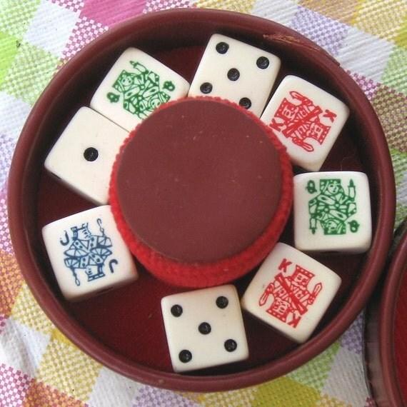 Vintage Dice Game 114
