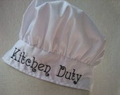 Adult Chef Hats Monogrammed