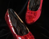SIZE 6 Dorothy's Ruby Slippers