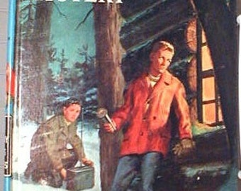 The Hardy Boys  The  Short  Wave  MYSTERY  by  Franklin W. Dixon Hard Cover Copy