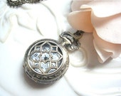 Sale--The Star Pocket Watch Necklace -Vinatge Pocket Watch Collection