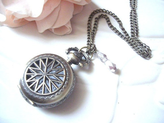 The Star Pocket Watch Necklace
