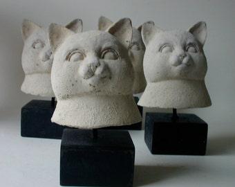 one cat head