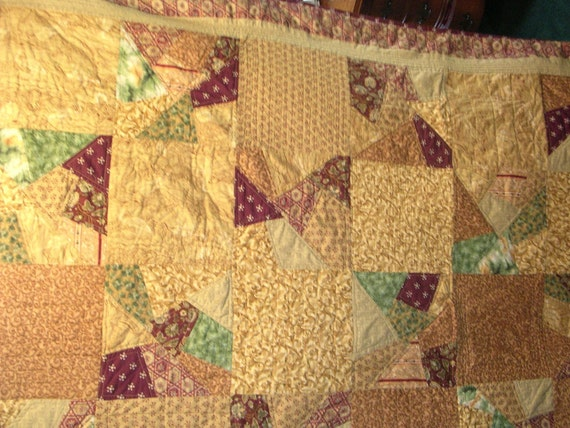 Pizza crazy quilt by dylotte on Etsy