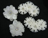 60's big daisy earrings