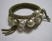 Vintage coil wrap bracelet
