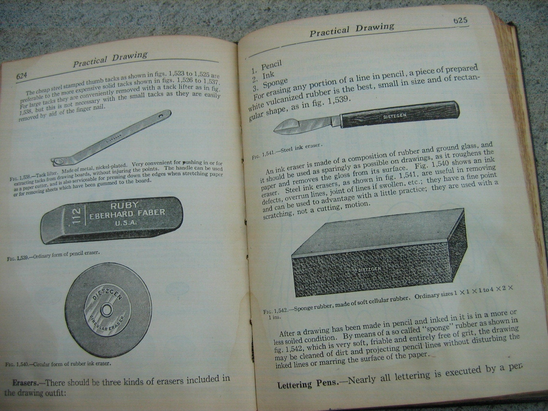 Vintage 1923 Audels Carpenters and Builders Guide Set 1-4 1936 printing