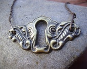 Guinevere Keyhole Necklace