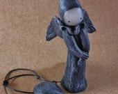 Raven's Promise Poppet with wings - Limited Edition 4 of 25