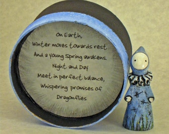 The Promise of Dragonflies Poppet