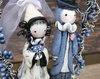 Custom Wedding/Anniversary Sculpture/ Cake Topper - Lisa Snellings
