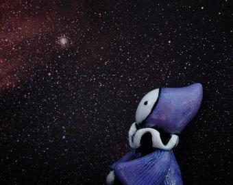 Star Gazing Poppet -Lavender Blues  - Lisa Snellings