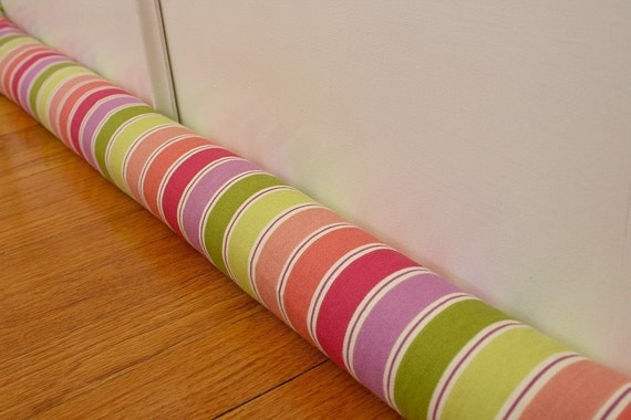 Draft Stopper, Draft Guard, Striped, Rainbow, SALE. 237