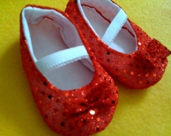 Ruby Slippers Sizes 0-18 months available PERFECT FOR HALLOWEEN