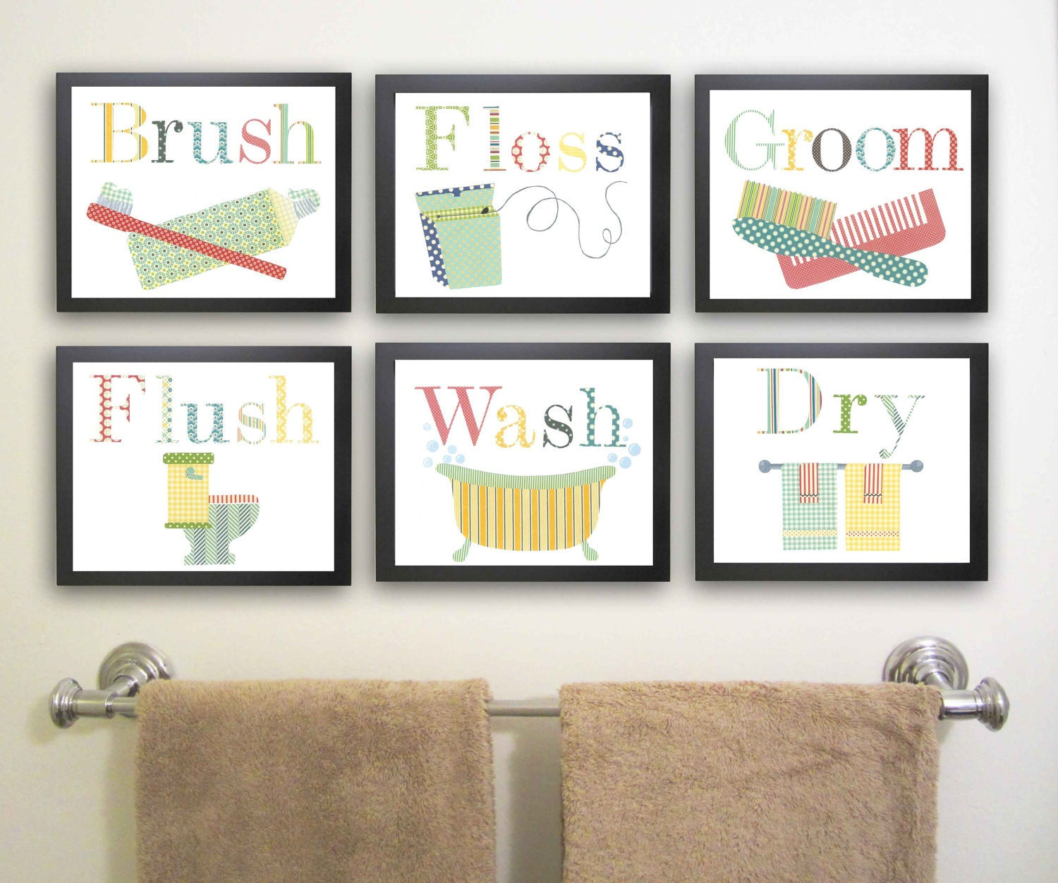 Popular items for bathroom manners on Etsy