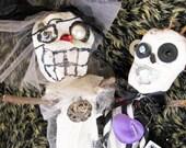Wedding Lucky Voodoo Doll Couple