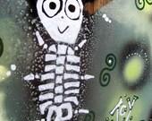 Skeleton Joy Butterfly