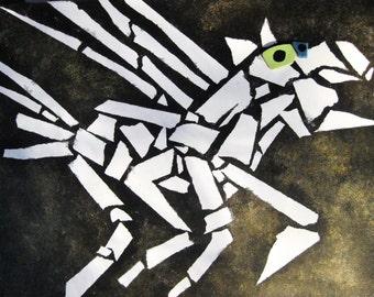 Nightmare Horse Painting
